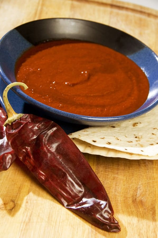 Mexican Red Chili Sauce Recipe — Dishmaps