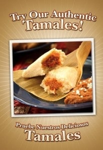 Del Real Tamales Promo