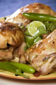 Margarita-Marinated Game Hens