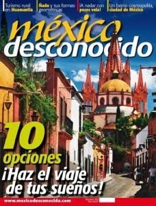Mexico Desconocido Magazine Cover