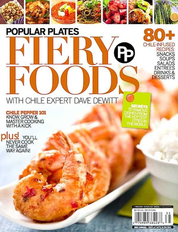 Popular Plates Fiery Foods Cover