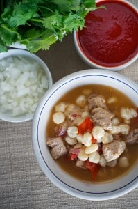 Posole with Chile Caribe