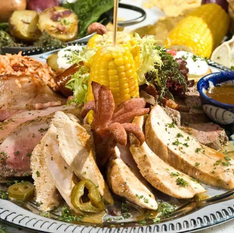 Pork and Turkey Dish